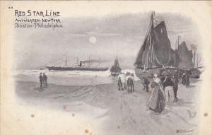 Red Star Line Antwerpen-New York Boston-Philadelphia