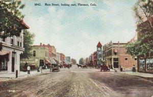 FLORENCE , Colorado , 1915 ; Main Street , East