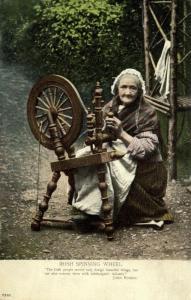 ireland, Irish Spinning Wheel, Costumes (1910s) II