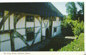 Sussex Postcard - The Clegy House - Alfriston - Ref 2724A