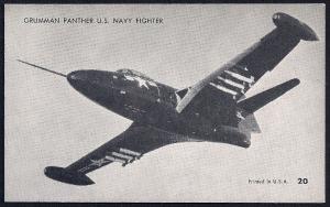 Grumman Panther Navy Jet unused c1950's