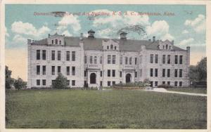 Domestic Science and Art Building,K.S.A.C., Manhattan,Kansas,PU-1915