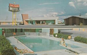 PECOS , Texas , PU-1969 ; Town & Country Motel, Office and Swimming Pool views