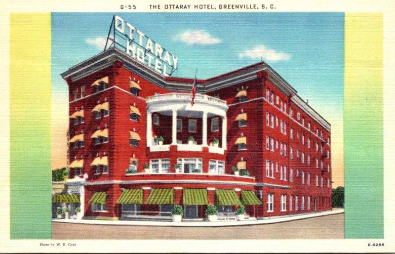 South Carolina Greenville The Ottaray Hotel