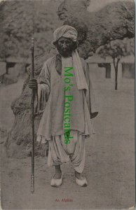 Afghanistan Postcard - An Afghan Man    RS26106