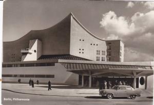 RP: Berlin , Germany , 1950s Philharmonie