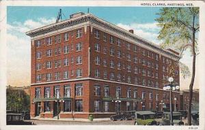 Hotel Clarke, Hastings, Nebraska,PU-1936