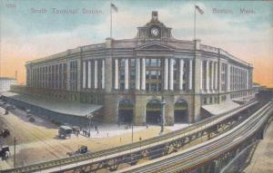 BOSTON, Massachusetts, 1900-1910's; South Terminal Station