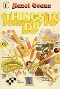 Things To Do Hazel Evans 1978 Puffin Book Postcard