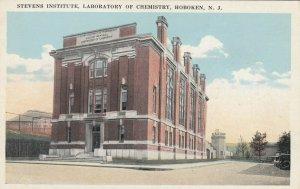 HOBOKEN , New Jersey, 1910s ; Stevens Institute, Laboratory of Chemistry