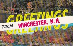 New Hampshire Greetings From Winchester