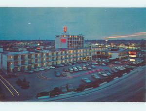 Unused Pre-1980 DOWNTOWNER MOTEL Boise Idaho ID n7048@