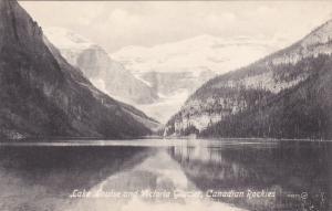ALBERTA, Canada, 1900-1910´s; Lake Louise And Victoria Glacier, Canadian Roc...