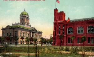 Florida Jacksonville Duval County Court House and Armory