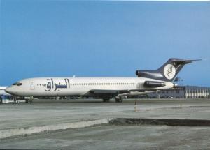 Buraq Airlines, Boeing 727-228, unused Postcard