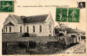 CPA LONS le SAUNIER Route de Villeneuve - Le Carmel (447317)