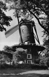 Netherlands Holland Molenland Mills Postcard