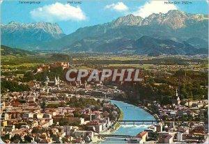 Postcard Moderne Salzburg Festspielstadt die mit Salzach