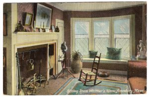 Amesbury, Mass, Sitting Room, Whittier's Home