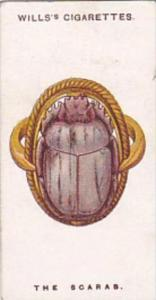 Wills Cigarette Card Lucky Charms No 20 The Scarab