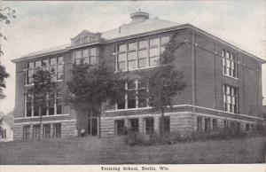 BERLIN, Wisconsin, 1900-1910's; Training School