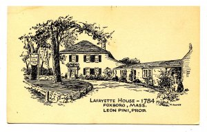 MA - Foxboro. Lafayette House