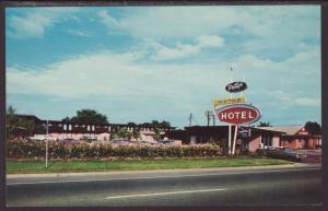 Petty's Motor Hotel,Luftkin,TX Postcard BIN