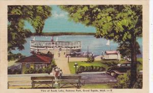 Michigan Grand Rapids View Of Reeds Lake Ramona Park