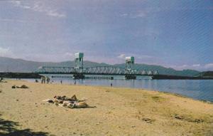 Okanagan Lake Bridge, Kelowna, British Columbia, Canada, 1940-1960s