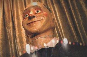 Dr Doctor Who Smiler Puppet Dummy BBC TV Postcard