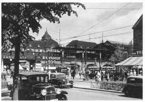 Berlin Bahnhof Zoo 1939 Reprint Auto Vintage Cars, Voitures