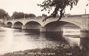 RP: Bridge , CEDAR FALLS , Iowa , 20-40s