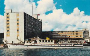 Bayshore Yacht Carriers , BAYSHORE INN , VANCOUVER , B.C. , Canada , 50-60s