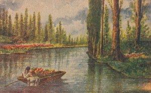 XOCHIMILCO Canals, Mexico, 1900-10s