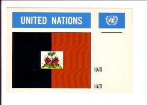 Haiti, Flag, United Nations