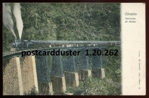 262 - SPAIN Cordoba 1900s Railway Bridge. Train. Barranca de Metlac