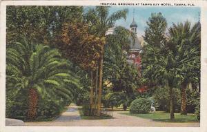 Tropical Grounds at Tampa Bay Hotel, Tampa, Florida, PU-1921