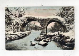 Mint Picture Postcard Ireland County Kerry Killarney Old Weir Bridge with snow