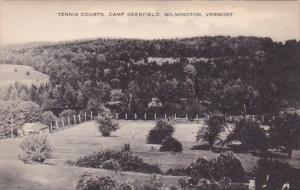Tennis Courts Camp Deerfield Wilmington Vermont  Artvue