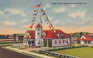 SEASIDE PARK, New Jersey, 1930-1940's; Coast Guard Station