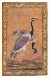 A Pair of Indian Cranes by Ustad Mansur