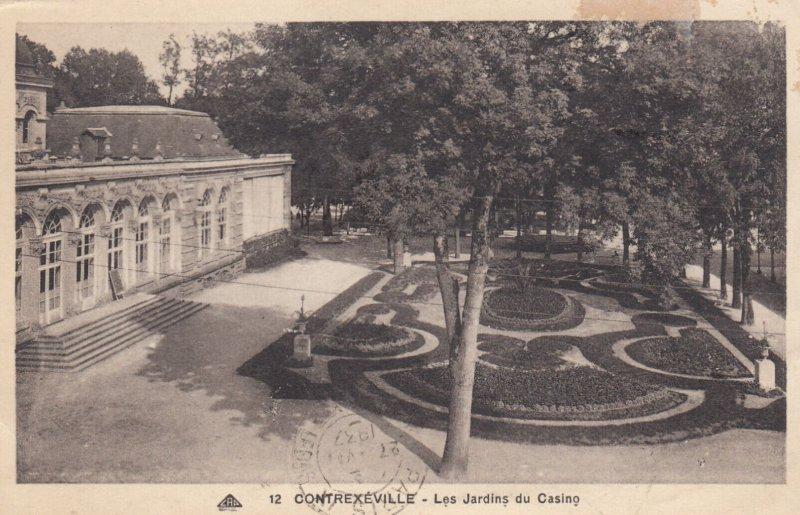 Contrexeville (Vosges), France, 1900-1910s ; Les Jardins du Casino