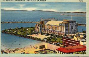 California Long Beach The Municipal Auditorium