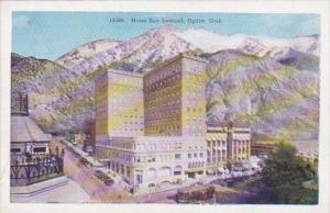 Utah Ogden Hotel Ben Lomond