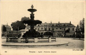 CPA Troyes- Lycee, Fontaine Argence FRANCE (1007798)