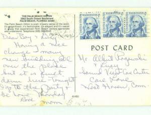Pre-1980 PALM BEACH HILTON HOTEL Palm Beach Florida FL HQ0488