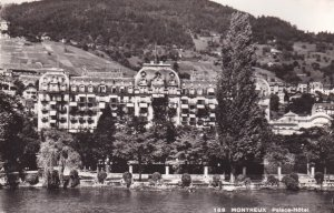 RP; MONTREUX, Switzerland, 1920-1940s; Palace-Hotel