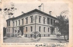 Mo. Kansas City, Public Library 1906