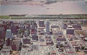 TN, Memphis, Tennessee, Downtown, Aerial View, Colourpicture No. P77851