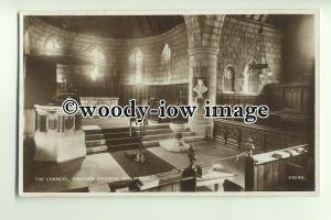 cu1926 - Chancel of Crathie Kirk Church, Crathie Village, in Balmoral - Postcard
